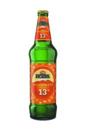 Pivo vánoční speciál polotmavá 13° Holba