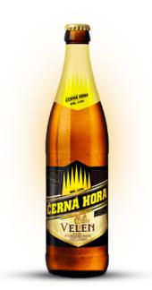 Pivo světlý pšeničný nefiltrovaný ležák Velen Černá Hora