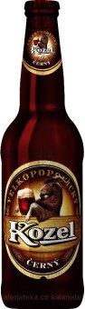 Pivo černé výčepní 10° Velkopopovický Kozel