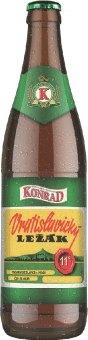Pivo Vratislavický světlý ležák 11° Konrad