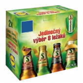 Pivo výběr ležáků Staropramen