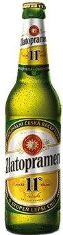 Pivo světlý ležák 11° Zlatopramen
