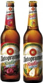 Pivo ochucené Zimní Radler Zlatopramen