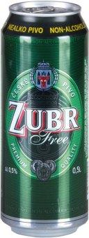 Nealkoholické pivo Free Zubr