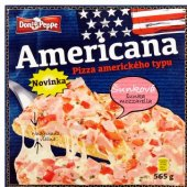 Pizza mražená Americana Don Peppe