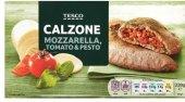 Pizza mražená Calzone Tesco