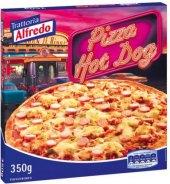 Pizza mražená hot dog Alfredo