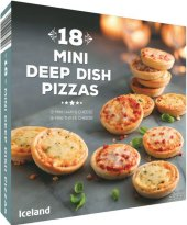 Pizza mini mražená Iceland