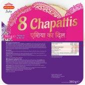 Placka chlebová Chapattis Vitasia