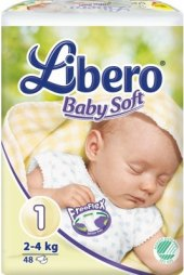 Pleny dětské Libero Baby Soft
