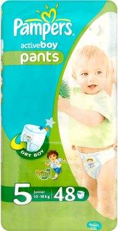 Pleny dětské Pampers Pants Active Boy