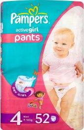 Pleny dětské Pampers Pants Active Girl