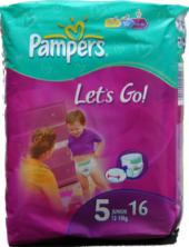 Pleny dětské Pampers Let´s Go