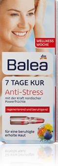 Kúra pleťová Anti-Stress Balea