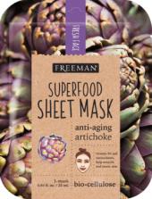 Pleťová maska bio celulózová Superfood Freeman