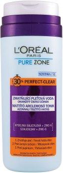Pleťová voda Pure Zone L'Oréal