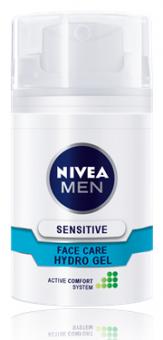 Gel pleťový pánský Sensitive Men Nivea