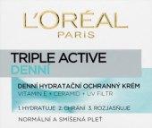 Pleťový krém hydratační Triple Active L'oreal