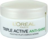 Krém pleťový Anti-Shine Triple Active L'Oréal