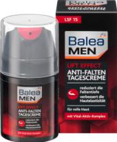Pleťový krém pánský proti vráskám Lift Effect Men Balea