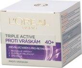 Krém pleťový proti vráskám Triple Active L'Oréal