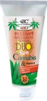 Pleťový opalovací krém Cannabis Duo Sun Bione Cosmetics