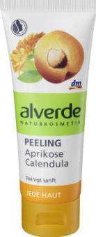 Pleťový peeling Alverde