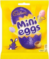 Mini vajíčka Cadbury