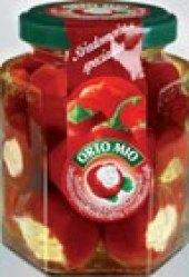 Papričky plněné Orto Mio