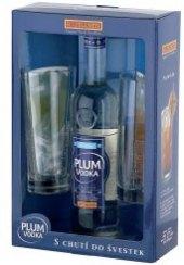 Vodka ochucená Rudolf Jelínek - dárkové balení