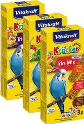 Pochoutky pro papoušky Trio Mix Vitakraft