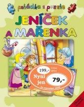 Pohádková kniha Jeníček a Mařenka s puzzle