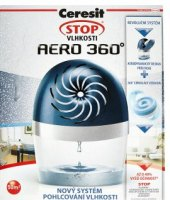 Pohlcovač vlhkosti Aero 360° Ceresit