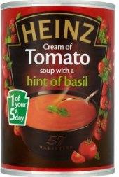 Polévka v konzervě Heinz