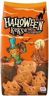 Polomáčené sušenky Halloween