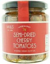 Polosušená rajčata v extra panenském olivovém oleji Marks & Spencer