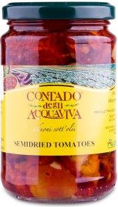 Polosušená rajčata v oleji Contado degli Acquaviva