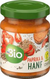 Pomazánka paprika s konopím dm Bio
