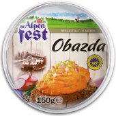 Pomazánka sýrová Obazda Alpen Fest