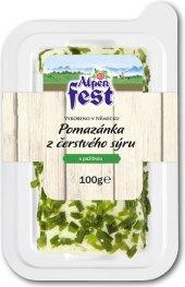 Pomazánková rolka z čerstvého sýru Alpen Fest