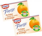 Pomerančová kůra Finesse Dr. Oetker