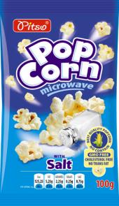 Popcorn do mikrovlnky Pitso