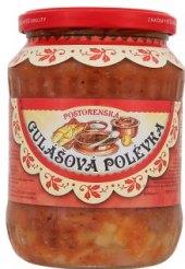 Polévka gulášová Poštorenská Švéda