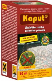 Postřik proti plevelu Kaput