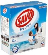 Prací prášek bez chloru Savo