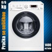 Pračka se sušičkou Hotpoint WDD 8640B