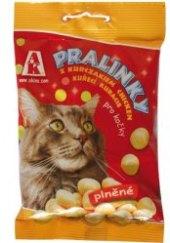 Pamlsky pro kočky Pralinky Akinu