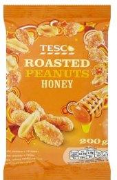 Arašídy v medu Tesco