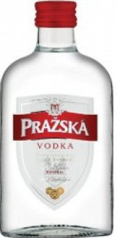 Vodka Pražská - dárkové balení