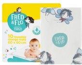Přebalovací podložky Fred&Flo Tesco